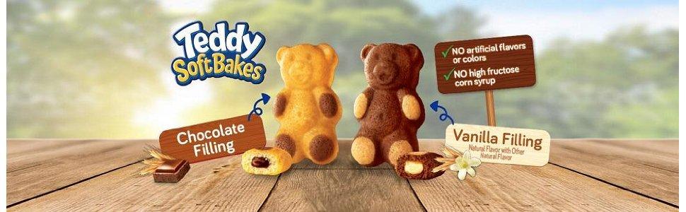 Bánh Gấu Nhân Chocolate Nhập Mỹ