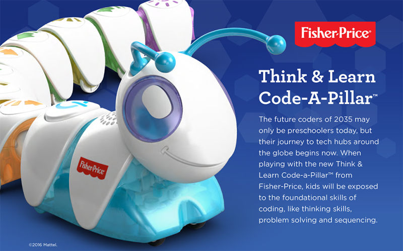 Fisher Price Code-a-Pillar 1.200.000 đ